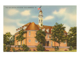 Old Capitol Building, Williamsburg, Virginia Prints