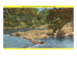 Yellow River near Chippewa Falls, Wisconsin Print
