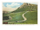 Steamboat Rock, Big Horn Mountains, Wyoming Posters