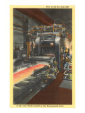 Hot Strip Mill, Iron Works, Pittsburgh, Pennsylvania Prints