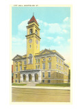 City Hall, Montpelier, Vermont Posters