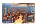 Sky Room, El Cortez Hotel, San Diego, California Posters