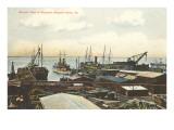 Shipyard, Newport News, Virginia Art