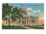 State Capitol, Providence, Rhode Island Poster