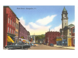 Main Street, Montpelier, Vermont Prints
