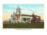 Mission San Luis Rey, Oceanside, San Diego County, California Prints