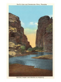 Devil's Gate and Sweetwater River, Wyoming Art