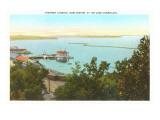 Steamer Landing on Lake Champlain, Vermont Print