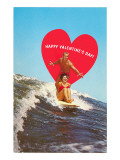 Surfing Valentine Photo