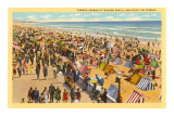 Mission Beach, San Diego, Kalifornien Kunstdruck