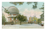 Greenwich Royal Observatory, England Prints