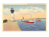 Lighthouse, Erie, Pennsylvania Prints
