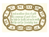 Chain of Friendship, Rhyme Prints
