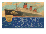 Queen Mary Book of Comparisons Posters