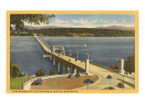 Lake Washington Floating Bridge, Seattle, Washington Art