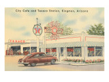 Texaco Station, Kingman, Arizona, Route 66 Prints