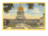 State Capitol, Charleston, West Virginia Poster
