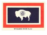 Wyoming State Flag Art