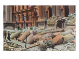 City Hall after the Earthquake, San Francisco, California Posters