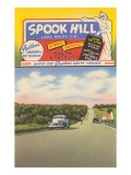 Billboard for Spook Hill, Florida Posters
