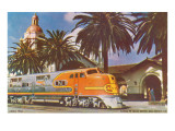 Train Station, San Diego, California Posters