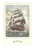 Full-Rigged Clipper Ship Photo