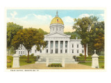 State Capitol, Montpelier, Vermont Prints