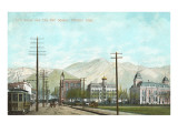25th Street, City Hall Square, Ogden, Utah Prints