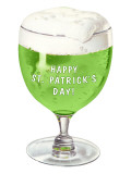 Schooner of Green Beer, St. Patrick's Day Prints
