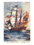 Great Harry, British Galleon, 1514 Prints