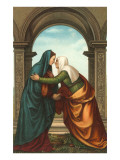 The Visitation by Albertinelli, Florence Posters