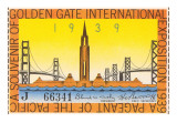 Souvenir Ticket, International Exposition, San Francisco, California Prints
