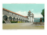 Mission, Santa Barbara, California Prints