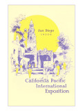 Pacific International Exposition Poster, San Diego, California Posters