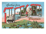 Greetings from Wausau, Wisconsin Prints