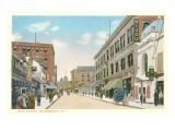 Main Street, Woonsocket, Rhode Island Poster