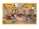 Reception Room, State Capitol, Salt Lake City, Utah Print