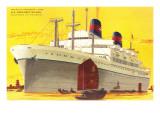 Ocean Liner SS President Wilson Prints