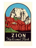 Zion National Park Decal Posters