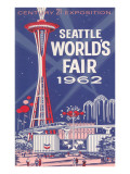 Space Needle, Seattle World's Fair Fotografia