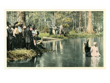 Baptism in the Lake Art