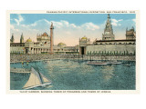 Yacht Harbor, World's Fair, San Francisco, California Prints
