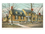 Mary Washington House, Fredericksburg, Virginia Prints