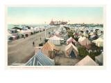 Tent City, Coronado, San Diego, California Prints