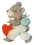 To My Valentine, Hobo Bear Posters