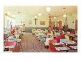 Interior, Retro Cafe Poster