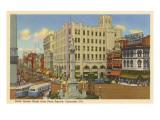 North Queen Street, Lancaster, Pennsylvania Print