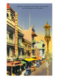 Chinatown, San Francisco, California Poster