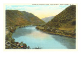 Kanawha River, Montgomery, West Virginia Posters