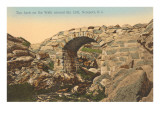 Arch, Cliff Walk, Newport, Rhode Island Prints